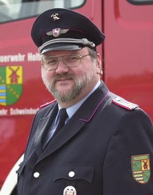 Brandmeister Uwe Wiechers