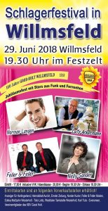 Schlagerfestival in Willmsfeld @ Festplatz Willmsfeld | Westerholt | Niedersachsen | Deutschland