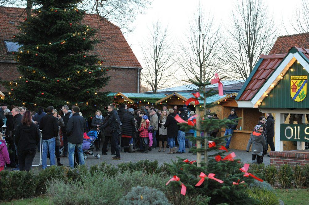 Adventsmarkt in Schweindorf @ Dorfplatz vor dem Dorfgemeinschaftshaus | Schweindorf | Niedersachsen | Deutschland