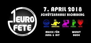 1-Euro-Fete 2018 @ Schützenhaus Blomberg | Blomberg | Niedersachsen | Deutschland