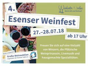 4. Esenser Weinfest @ Weinkontor Nordsee | Esens | Niedersachsen | Deutschland